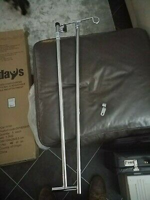 Drip Stand for IV infusion height-adjustable universal bed, chair, wall, wheelch