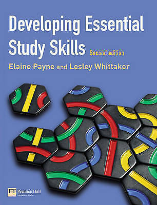 Developing Essential Study Skills by Elaine Payne, Lesley Whittaker (Paperback,…