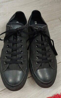 mens all black All Star converse trainers - Mens UK Size 10 great condition