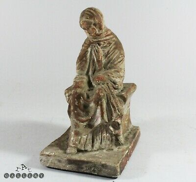 19th Century Grand Tour Greek Boetian Terracotta Tanagra Figure