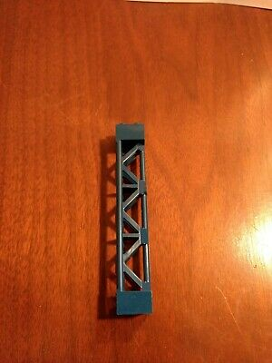 2x2 Connector On Top /& 2x4 On Bottom Vintage Lego Blue Support Piece