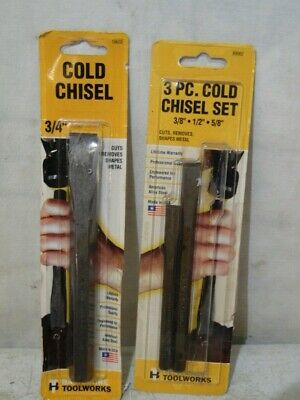 UPC:099575705601 GEARWRENCH 70-560G 5 PC TOOL STEEL COLD CHISEL SET MADE IN USA