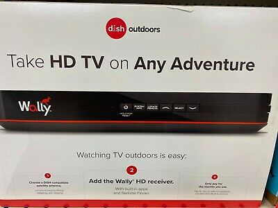 Dish Network WALLY single-tuner satellite HD  receiver with Remote - NEW $52.00