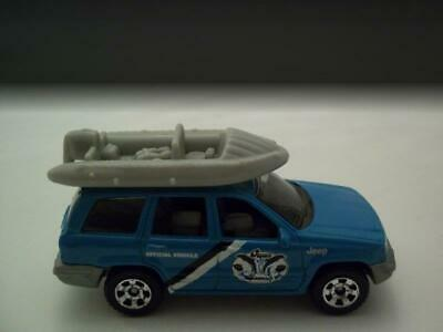 """2008 Matchbox /""""Ocean Research/"""" Jeep® Grand Cherokee LIGHT BLUE Used 1"""