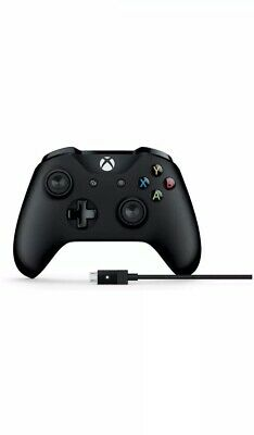 Microsoft Official Wireless Controller with Cable for Windows  (Xbox One) New