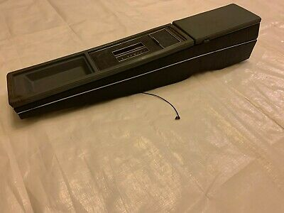 1984-1987 Buick Grand National Center Console G Body Storage Compartment