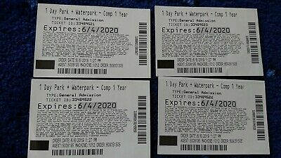 4 tickets for 1 day to  Legoland Florida (park and waterpark)