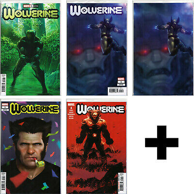 WOLVERINE #1+ Variant, Incentive, Exclusive Comic Books ~ MARVEL COMICS