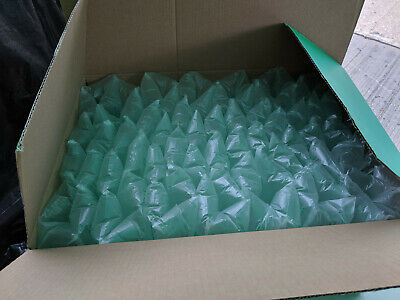 160 x pre inflated air cushion pillow packaging loose void fill 100x200mm