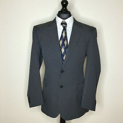 """Taylor &  Wright Grey Pin Stripe Suit 42""""R chest 38""""W 31""""L"""
