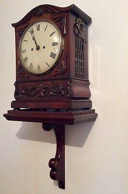 Stuning 1810-182 Double Chain Fusee Chiming Bracket clock, with original Bracket