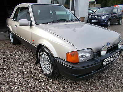 Ford Escort Xr3I Cabriolet Limited Edition
