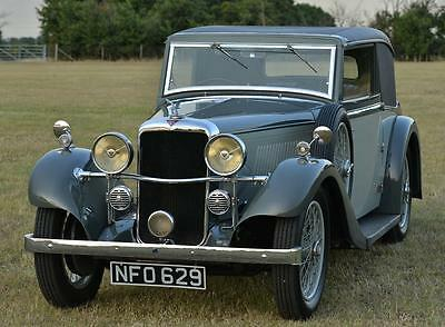1935 Alvis Silver Eagle 2 door coupé