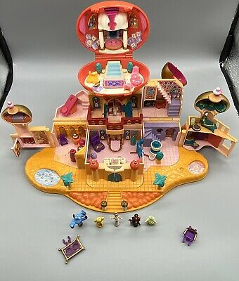 Disney Polly Pocket - Jasmine`s Royal Palace, Aladdin. Vintage 1996