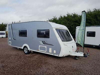 * SALE AGREED * Swift Conqueror 530 2008 Silver Side 4 Berth With Motor Mover