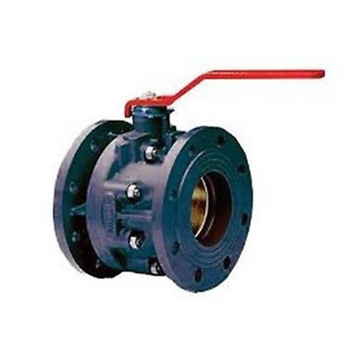 16 Ball valve in cast iron with total passage DN 125 RASTELLI