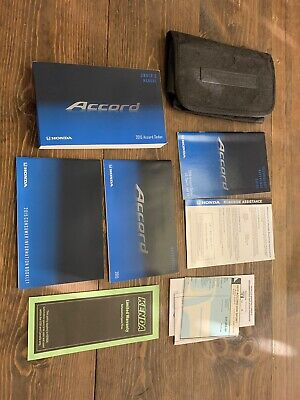 2015 Honda Accord Sedan Owners Manual Guide Book Set With Case Oem With Sticker