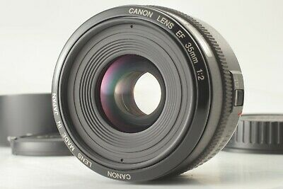 【EXC+5 w/ Hood,Cap】 Canon EF 35mm f2 Wide Angle EF Mount Lens from Japan #1738