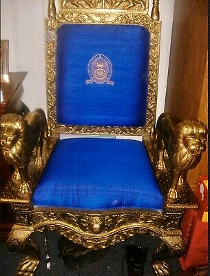 Royal/Religious Gold Throne For Staging, Sets, Photo Shoots, Etc.