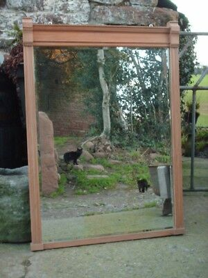 Large Antique Wall / Mantle Mirror