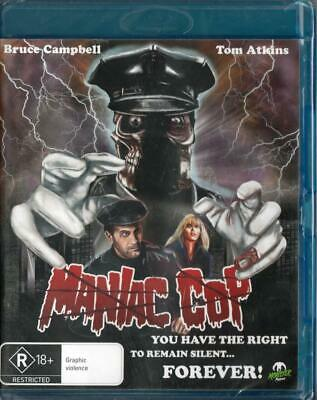 Maniac Cop - Bruce Campbell -  Blu-Ray New & Sealed - Free Local Post