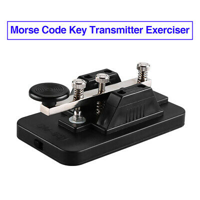 CW morse Code Practice Oscillator VISUAL only for the hearing impaired