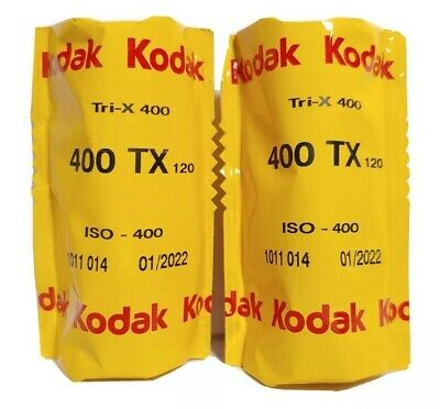 Kodak 2 Pack 400 TX Tri- X 400, BLACK & White Negative Film 35mm, 36 EXP 01/2022