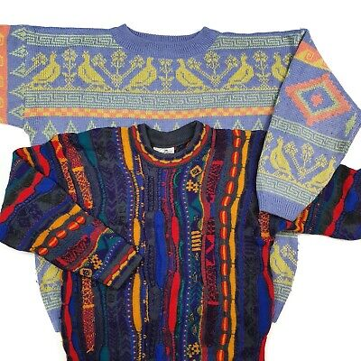 X20 Vintage Wholesale Cosby Patterned Sweater