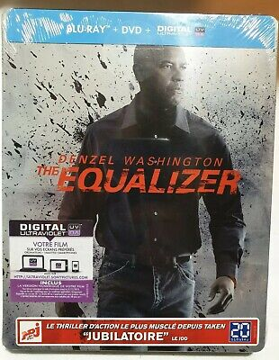 The equalizer BLU RAY + DVD STEELBOOK NEUF SOUS BLISTER Denzel Washington