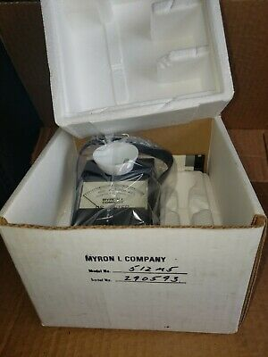 New Myron L Ds Conductivity Meter 0-5000 Ppm (Micromhos) Model No. 512M5