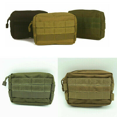Multi-purpose Tactical Molle Pouch EDC Belt Waist Pack Bag Utility Phone Pocket