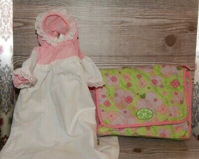 Cabbage Patch Cloth Diaper Bag Cabbage Patch Kids & Vintage Preemie Dress Lot