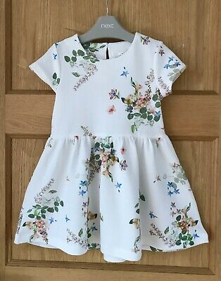 NEXT GIRLS FLORAL DRESS *2-3y BEAUTIFUL FLORAL SUMMER DRESS Age 2-3 YEARS