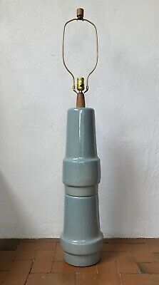 Jane Gordon Martz Huge Lamp Robin's Egg Blue Green Marshall Studios