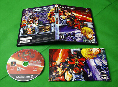 Guilty Gear X2 • Sony PlayStation 2 System/Console by Sammy Arc Works • PS2