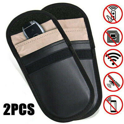 Anti-theft Car Key Pouch Bag RFID Signal Blocker Faraday Signal Blocking Case