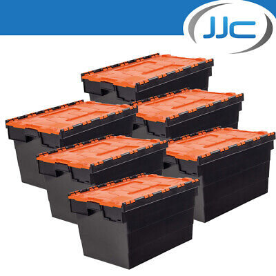 JJC Race and Rally 6 x Stackable Storage Boxes for Workshop/Garage