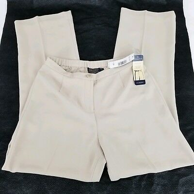 Pendleton womens dress pants Trousers Beige size 4 pet.NEW WITH TAGS $128 Retail