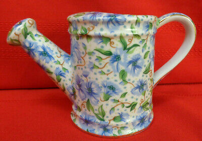 Ainsley Ceramic Watering Can Chintz Two's Company Pattern