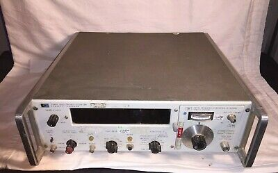 HP Agilent Hewlett Packard 5248L Electronic Counter 5254C Frequency Converter