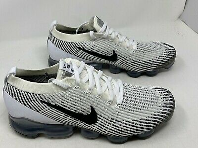 Nike Air Vapormax Flyknit 3 White Black AJ6900-105 Men's Size 11.5 NOBOXLID