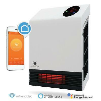 Infrared Heater Wi-Fi Smart Floor To Wall  1,000-Watt Built-in Thermostat