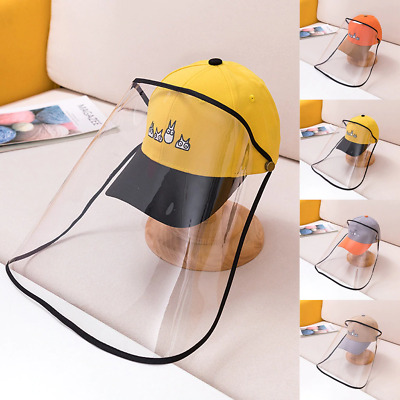 Kids Hats Children's Baseball Anti-spitting Protective Dustproof Cover Sun Caps