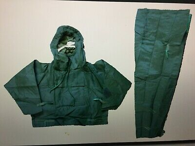 Military Nuclear Biological Chemical Protection Two Piece Suit NBC British OD