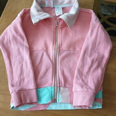 Girls Pink Adidas Jacket Size 7-8