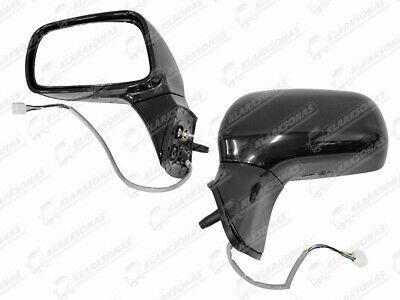 Gauche Côté Passager Grand Angle Wing Mirror Glass for TOYOTA COROLLA 2005-2009