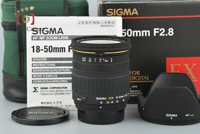 Excellent!! Sigma 18-50mm f/2.8 EX DC D for Nikon w/ Box