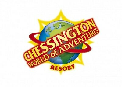 2 Tickets to Chessington World Of Adventures - 29th June 29/06/2020