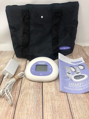 Lansinoh Smart Pump Double Electric Breast Pump + Tote + Adapter