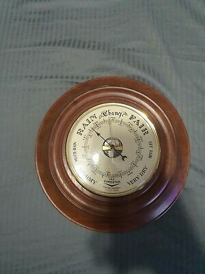Vintage French Made Barometer Wooden BAROSTAR PRECISION INSTRUMENT